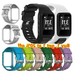 Strap Watch Band Silicone For TomTom Runner 2 3 Spark 3 Adve