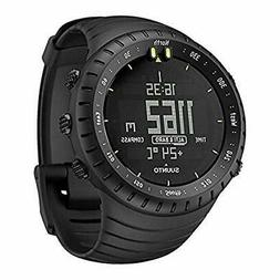 Suunto Core All Black Military Men's Outdoor Sports Watch -