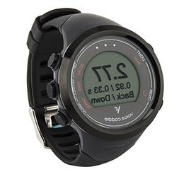 VOICE CADDIE T1 Hybrid Golf GPS Watch, Black