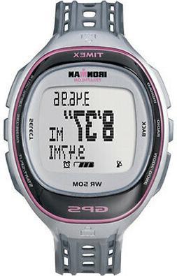 Timex Women's T5K629 Ironman Run Trainer GPS Speed + Distanc