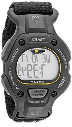 Timex Men's T5K693 Ironman Classic 30 Full-Size Black Fast W