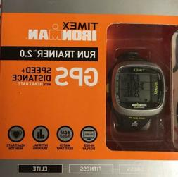 Timex Unisex T5K742 Ironman Run Trainer 2.0 GPS Digital HRM
