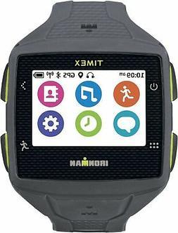 Timex TW5K89000F5 Ironman One GPS Watch, Full Size, Gray/Lim