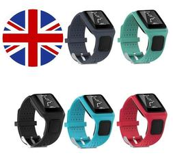 TomTom 1 Runner Golfer One Replacement Watch Strap Silicone