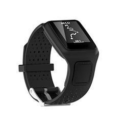 TomTom Multi Sport Watch Strap, Xander Replacement Silicagel