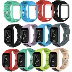 For TomTom Runner 2&3/Golfer 2/Spark 3 Sport Silicone Watch