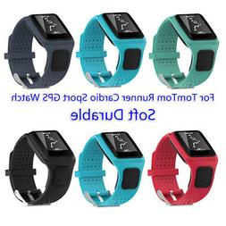 For TomTom Runner Cardio Sport GPS Watch Soft Silicone Repla