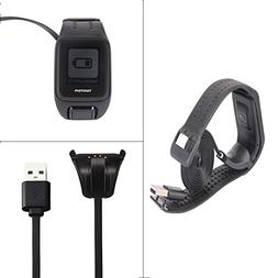 Tomtom Spark Cardio Charger Cable, Replace USB Charging Cabl