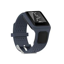 Pawaca TomTom Watch Strap, Silicone Replacement Watchbands S