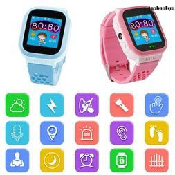 Touch Screen Smart Watch Cell Phone GPS Children Kids Anti-l