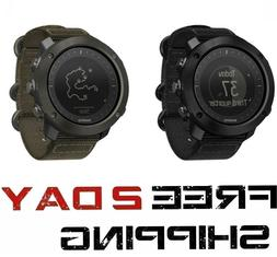 Suunto Traverse Alpha Foliage Stealth Black/Red GPS Stainles