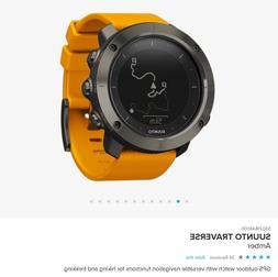 Suunto Traverse Amber, Explore Watch, Outdoor Watch, GPS