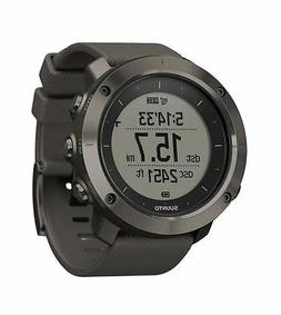 Suunto Traverse Graphite GPS Outdoor Watch For Hiking and Tr