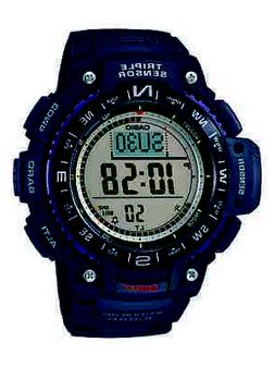 Casio Triple Sensor Mens Black Resin Strap Digital Sport Wat