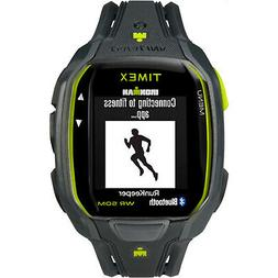 Timex Men's TW5K84500 Ironman Run x50+ Charcoal/Lime Resin S