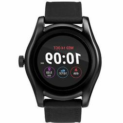 Timex TW5M31500, Iconnect Black Silicone Watch, Heart Monito