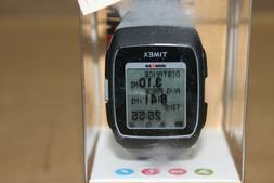 Timex Unisex TW5M11800 Ironman GPS Black/Gray Silicone Strap