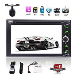 6.2 Inch Universal 2 Din Car GPS Stereo Radio HD Capacitive