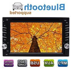 Universal In Dash Car Radio Stereo Double 2 Din Autoradio He