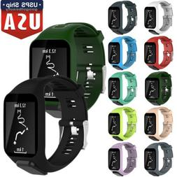 US Silicone Replacement Band Wrist Strap ForTomTom Runner 2