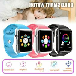 US Smart Watch + GPS GSM Locator Touch Screen Tracker SOS Ca