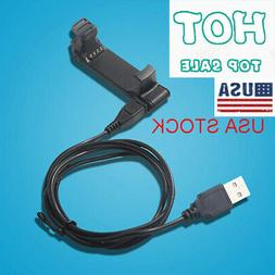 US USB Charger Clip Charging & Data Cable for Garmin Forerun