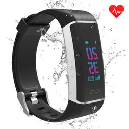 USB Charge GPS Smart Watch Bracelet Heart Rate Monitor Activ