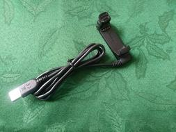 USB Charger Clip Charging & Data Cable for Garmin Forerunner