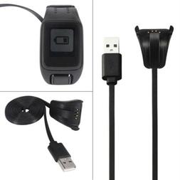 USB Charging Charger Dock Charger Cable for TomTom Spark 3 c