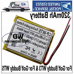 USPS 320mAh Battery For Golf Buddy WT3& For WT5 Smart watch