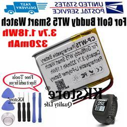 USPS For Golf Buddy WT5 Smart watch GPS Wach 320mAh Recharge