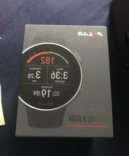 Polar Vantage V Titan GPS Multi-Sport Watch Black Red Medium