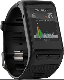 Garmin Vivoactive HR  GPS Smartwatch - Regular Fit, Black