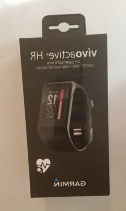 vivoactive hr gps smartwatch regular fit black