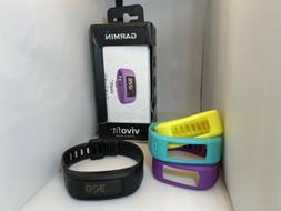 Garmin Vivofit Activity Fitness Tracker Large w/ 4 Bands - T