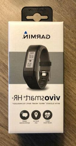 Garmin Vivosmart HR+ Activity Tracker Black Regular Fit