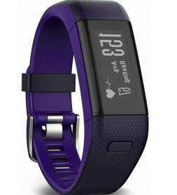 Garmin Vivosmart HR+ Activity Tracker Imperial Purple/Kona P