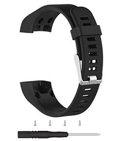 Vivosmart HR+ Bands,TenCloud Replacement Striped Sport Strap