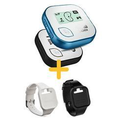 Golf Buddy Voice 2 Talking GPS Range Finder with Wrist band