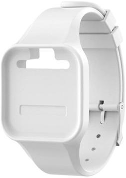 Golf Buddy Voice 2 Wristband Accessory, White