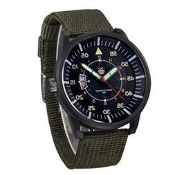 Nmch Watch Big Promotion, Mens Military Quartz Army Watch Bl