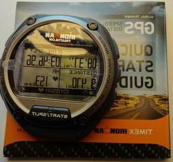 WATCH HEAD ONLY Timex Ironman Triathlon 5K267 Global Trainer
