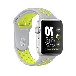 Apple Watch Nike+ 42mm Silver Aluminum Case Silver/Volt Nike