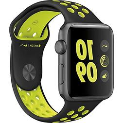 Apple Watch Nike+ 42mm Space Gray Aluminum Case with Black/V