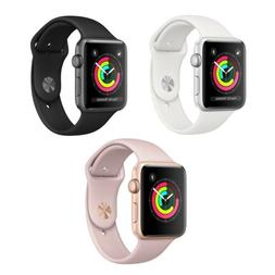 Apple Watch Series 3 - 42mm - GPS Only - Aluminum Case Smart