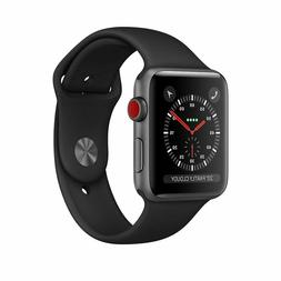 Apple Watch Series 3 42mm GPS + Cellular LTE Space Gray/Blac
