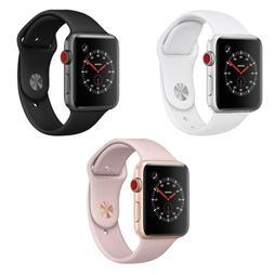 Apple Watch Series 3 42mm WiFi GPS Cellular Aluminum Case Sp