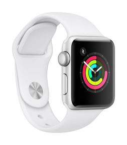 Apple Watch Series 3 GPS 38mm - Silver Aluminium Case with W
