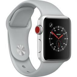 Apple Watch Series 3 GPS+Cellular Silver Aluminum Case with