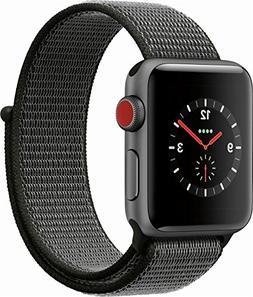 Apple Watch Series 3  MQJT2LL/A 38mm Space Gray Aluminum Cas
